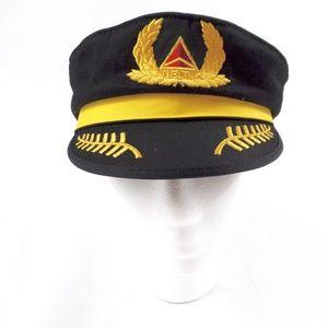 Delta Airlines Captain's Hat - Kids Pilot Costume